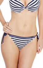 Audelle Swimwear Beach Life Tie Side Figi