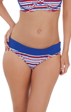 Audelle Swimwear Sailor Blue/Red/White Figi
